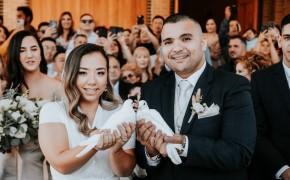 Amy & Danilo 悉尼华人 + 西人婚礼 天主教婚礼
