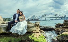 Reika and Quan 悉尼婚纱摄影